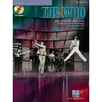 THE WHO SIGNATURE LICKS BK/CD GTR