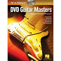 AT A GLANCE GUITAR MASTERS BK/DVD