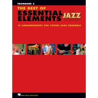 Best Of Ee For Jazz Ensemble Trombone 2