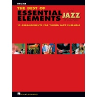 Best Of Ee For Jazz Ensemble Drums