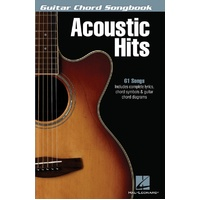 Guitar Chord Songbook Acoustic Hits