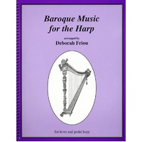Baroque Music For The Harp Lever And Pedal