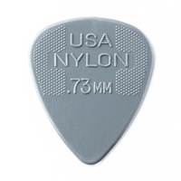 Jim Dunlop Nylon Grey Guitar Pick .73mm