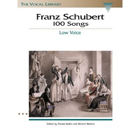 Schubert 100 Songs Low Voice