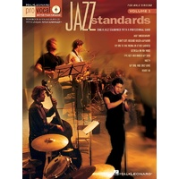 Jazz Standards Pro Vocal Bk/Cd Mens Ed V2