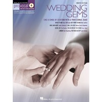Wedding Gems Pro Vocal Mens V8 Bk/Cd