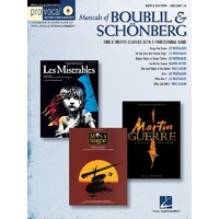 Musicals Boublil & Schonberg Pro Vocal Men V18