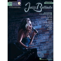 Jazz Ballads Pro Vocal Womens V17 Bk/Cd