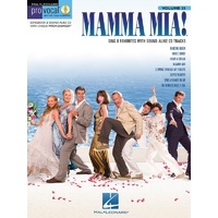 Mamma Mia Pro Vocal Womens Ed Bk/Cd V25