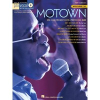 Motown Pro Vocal Mens Edition V38 Bk/Cd