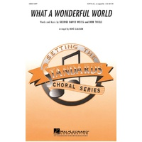 What A Wonderful World Satb Divisi A Cappella