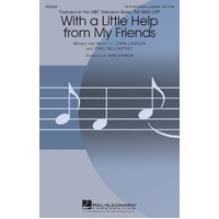 With A Little Help From My Friends Satb