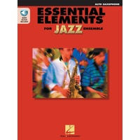 Essential Elements For Jazz Ensemble Alto Sax W/
