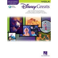 Disney Greats Viola Bk/Cd