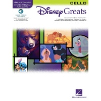 DISNEY GREATS CELLO BK/OLA