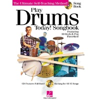 Play Drums Today Songbook Bk/Cd