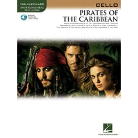 Pirates Of The Caribbean For Cello Bk/Ola