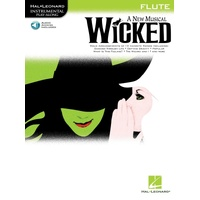 Wicked A New Musical Flute Bk/Cd