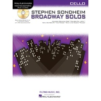 Stephen Sondheim Broadway Solos Bk/Cd Cello