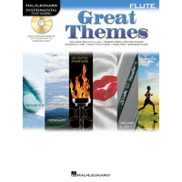 Great Themes Bk/Cd Flute