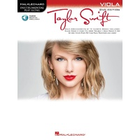 TAYLOR SWIFT VIOLA PLAYALONG 2ND ED BK/OLA