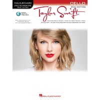 TAYLOR SWIFT CELLO PLAYALONG 2ND ED BK/OLA