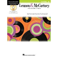 Lennon & Mccartney Favorites Viola Bk/Cd