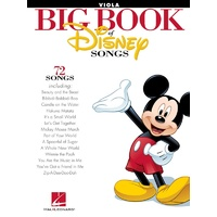Big Book Of Disney Songs Viola