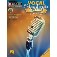 Vocal Standards (Low) Jazz Play Along Bk/Cd V128