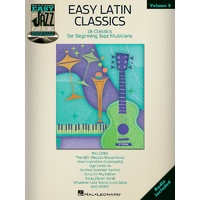EASY LATIN CLASSICS EASY JAZZ PLAY ALONG BK/CD V
