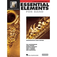 Essential Elements For Band Bk2 Alto Sax Eei