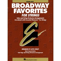 Ee Broadway Favorites Strings Double Bass