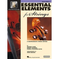 Essential Elements For Strings Bk2 Cello Eei