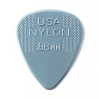 Jim Dunlop Nylon Grey Guitar Pick .88mm