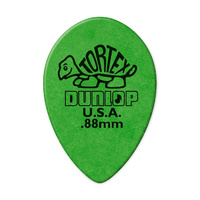 Tortex Small Teardrop Guitar Pick .88mm