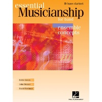 Essential Musicianship For Band Hs Bass Clarinet