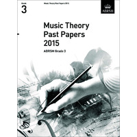 MUSIC THEORY PAST PAPERS GR 3 2015 ABRSM