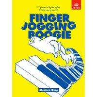FINGER JOGGING BOOGIE - 17 Pieces For Beginners Piano Book *NEW* ABRSM Music