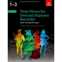 TIME PIECES FOR DESCANT RECORDER BK 1