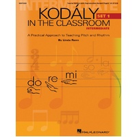 Kodaly In The Classroom Interm Set 1 Kit Bk/Cd