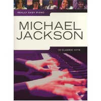 Really Easy - Michael Jackson Piano Book *New* Sheet Music, 19 Classic Hits