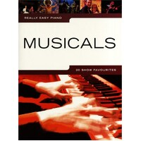 Really Easy - Musicals Piano Book *New* Sheet Music, 20 Show Favourites