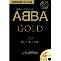ABBA - Selections From Abba Gold Strumalong Ukulele Book & CD *NEW* Music