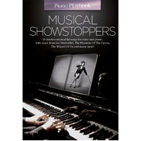 Piano Playbook - Musical Showstoppers Book *New* Sheet Music, 35 Timeless Songs