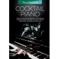 Piano Playbook - Cocktail Piano Book *New* Sheet Music, 45 Smooth Solos