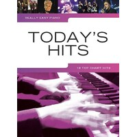 Really Easy - Today'S Hits Piano Book *New* Sheet Music, 18 Top Chart Songs