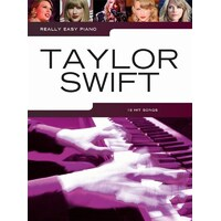 Really Easy - Taylor Swift Piano Book *NEW* Sheet Music, 18 Hit Songs, Fearless