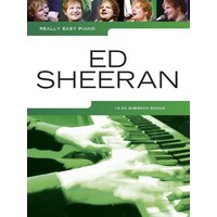 Really Easy Piano Ed Sheeran