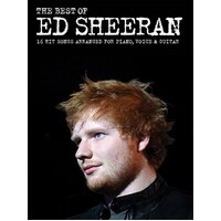 Ed Sheeran The Best Of  Pvg Book *New* Sheet Music, Piano Vocal Guitar