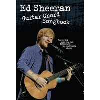 Ed Sheeran - Guitar Chord Songbook Book *New* Sheet Music